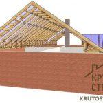 Строительство двускатной крыши – последовательность монтажа