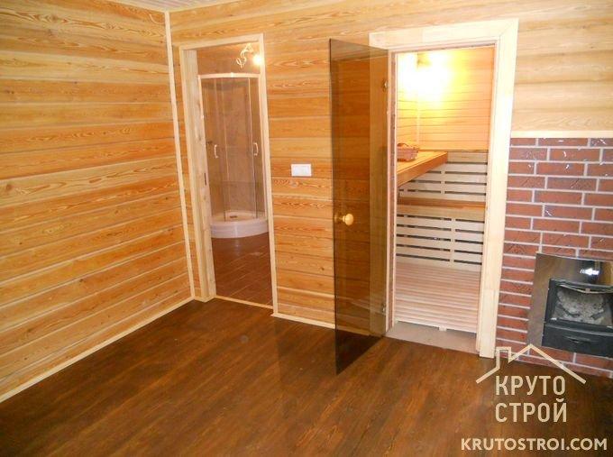 Внутренняя отделка бани из блоков своими руками