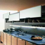 Размеры навесных шкафов для кухни