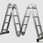 Алюминиевые лестницы трансформеры – советы по выбору, их преимущества