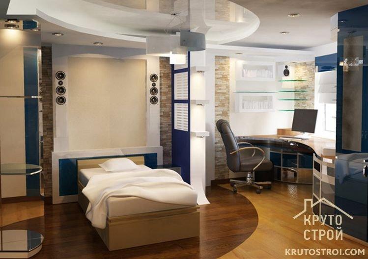 Кабинет спальня: подбираем дизайн дизайн интерьера.