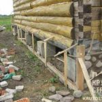 Столбчатый фундамент для деревянного дома. Особенности возведения