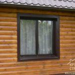 Откосы окон в деревянном доме: какие предпочесть?