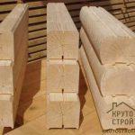 Размер бруса для строительства дома: рекомендованные параметры