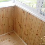 Варианты отделки балконов внутри: фото, советы по выбору