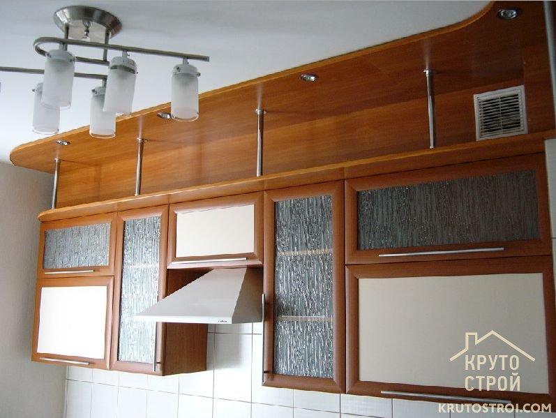 Навесной шкаф на кухню своими руками 33