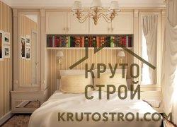 Несколько небольших шкафов вместо одного большого в маленькой спальне